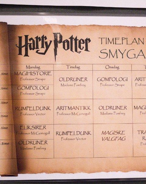 Timeplanen: Timeplanen for Smygard har fått en ny vri.
