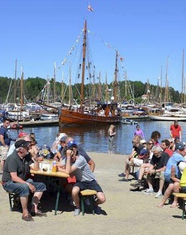 GODT BESØKT: Over 7 000 personer besøkte Hurum trebåtfestival i sommer.