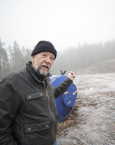 POSITIVE: Miljødirektoratet tar en endelig avgjørelse våren 2018, og Martin Berthelsen tror svaret blir positivt for Hurum.