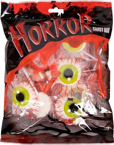 Nille AS kaller tilbake posen «Horror Candy Bag» med kjærligheter på pinne. Pinnen kan løsne eller knekke slik at plastbiter kan bli igjen i produktet.