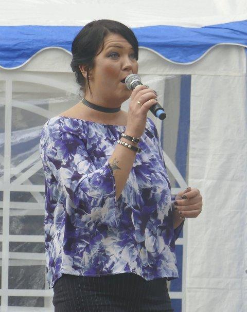 Sang: Inger Lise Bøe Bævre imponerte.