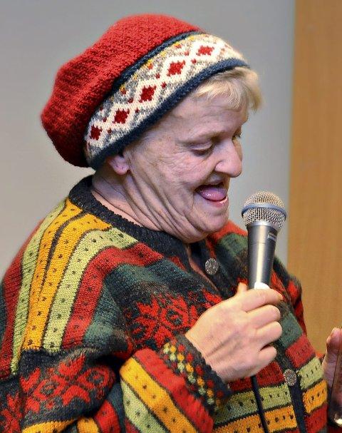 Vokalist: Laila Sandø har rytme som få andre.