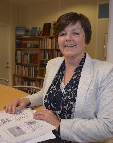 Selger: Næringssjef Anne Torunn Hvideberg er ansvarlig for salget av næringstomter. Arkivfoto