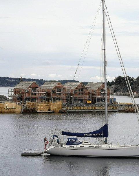 RUNDE TO: Før helgen ble byggetrinn to på Holmen lagt ut. Foto: Arkiv