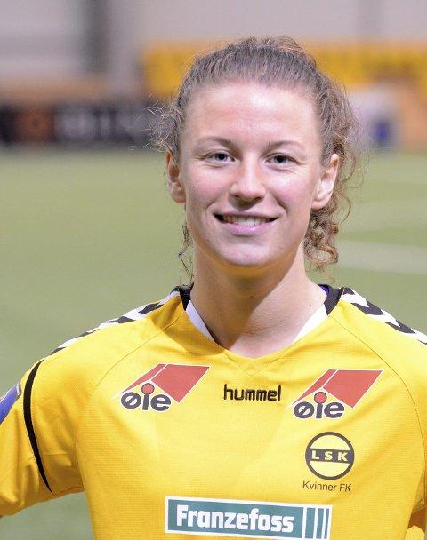 UAVGJORT: Synne Skinnes Hansen og LSK spilte uavgjort 1–1 mot Klepp på Jæren.