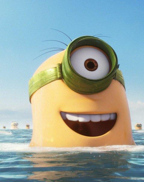 På kinotoppen: Den populære familiefilmen «Minions» har dratt flest kinogjengere i sommer.