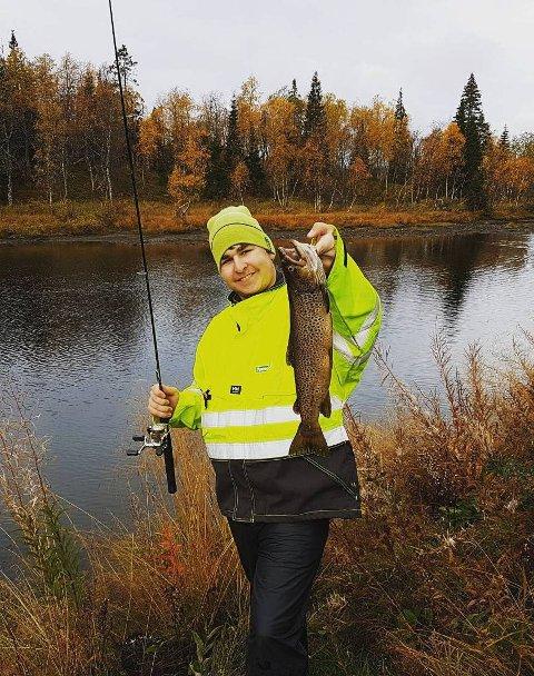 EN GOD SKOLE: Finn Einar Mørch Bakkens store lidenskap er å fiske, og tiden på  sporsfiskelandslinja var perfekt.