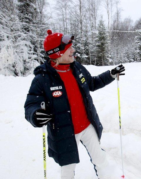 Klar på ski: Hans Flaaten gleder seg til nye renn i Telenorkarusellen. Foto: Terje Holm