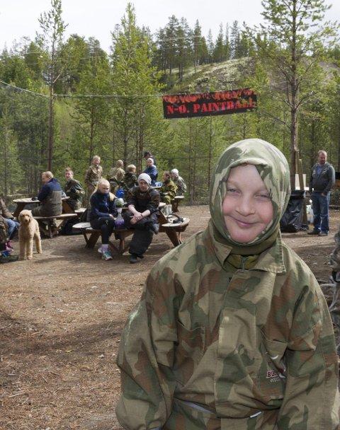 GODT KLEDD: Hein Knudsen skal prøve for første gang og er spent. (Foto: Tore Rasmussen Steien)