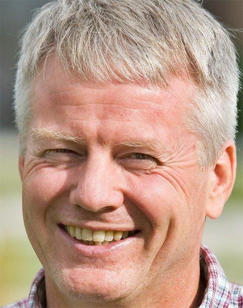LYKKEFORSKER: Han har forsket og tenkt mye på hva det innebærer å være lykkelig, professsor Joar Vittersø.