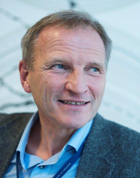 Eivind Hansen er administrerende direktør i Helse Bergen.