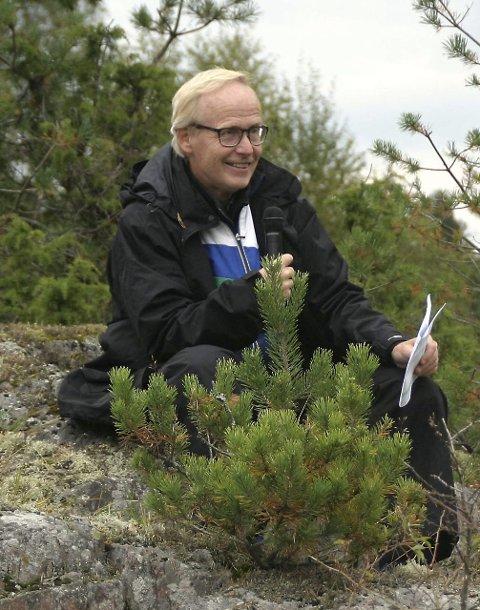 Stein Turtumøygard har et foredrag i slutten av februar.