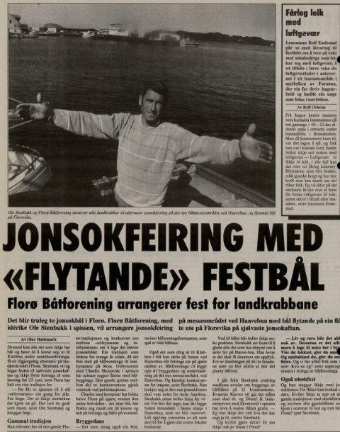 Ole Stenbakk for 25 år sida