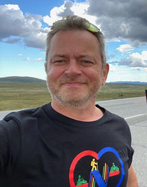 NY JOBB: Ulf Tore Johansen er bosatt i Lillestrøm. De neste fire årene blir hverdagen litt annerledes.