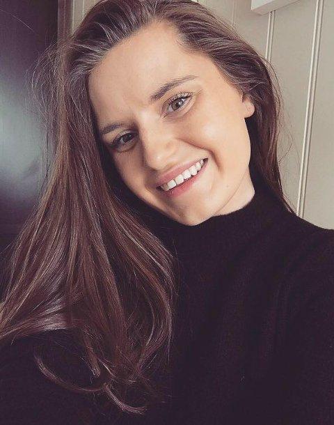 SØKER: Nora Grindvoll fra Elverum håper nå å bli kalt inn til intervju.