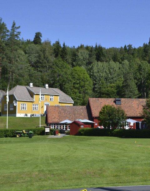Populær: 18-hullsbanen på Nes Verk er mye brukt av ivrige golfspillere.