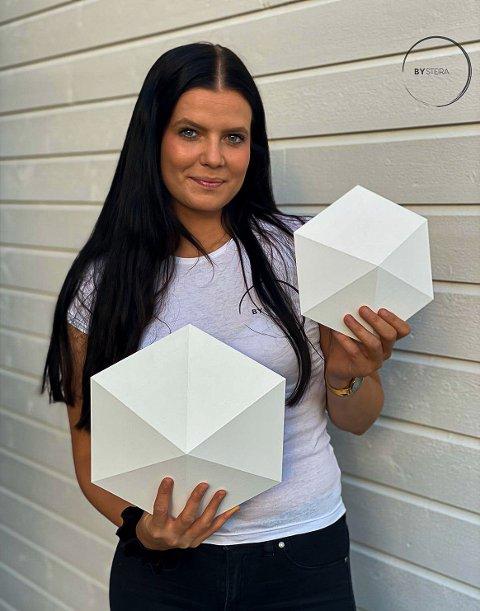 SATSER: Henriette Steira (26) har etablert designbedriften BySteira.