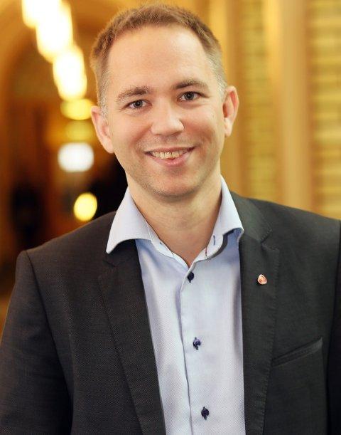 Tellef Inge Mørland, Ap.