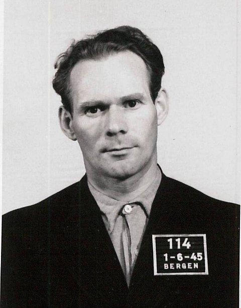 DØMT: Erling Andreas Nordahl var NS-innsatt redaktør i Morgenavisen fra 1942. Fikk straff på fire år og ni måneders tvangsarbeid.