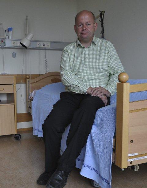 DEMENS: Torvild Sveen opplyser at opposisjonspartiene i Gjøvik ønsker å få til et eget bo- og omsorgstilbud til ugne demente.Arkivbilde