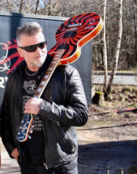 KLAR: Kjell Arne «Kelly» Aamodt gleder seg til årets festival, men aller mest stemningen.