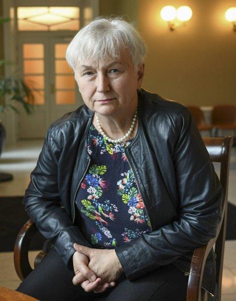 Oddny Miljeteig (på bildet) er spaltist i BA. Ho har forfatta minneorda i samarbeid med med Grethe Kvist, leiar i FO Vestland.