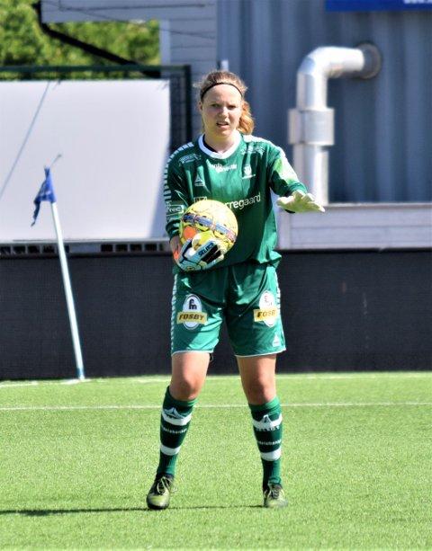 Sarpsborg 08-keeper Anna Barlund (16) er tatt ut til Norges EM-kvalifiseringskamper mot Israel, Kroatia og Russland.