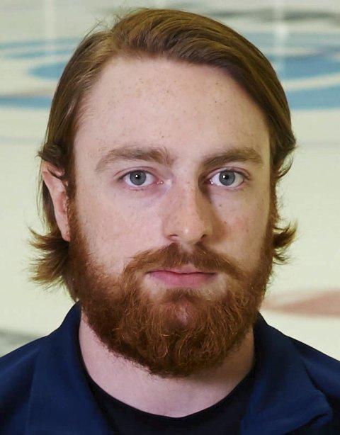 GÅR LØS PÅ NY SESONG: Martin Hage innleder snart sin åttende sesong i Narvik hockey-trøya.