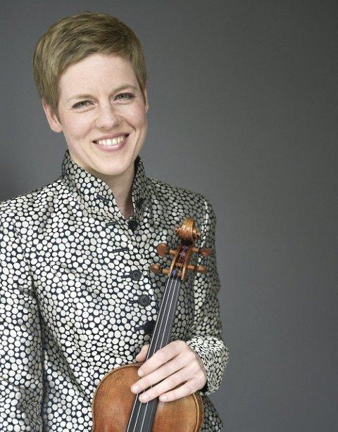 To stjerner: Fiolinisten Isabelle Faust og pianisten Andras Schiff kommer til Lofoten Internasjonale Kammermusikkfest.