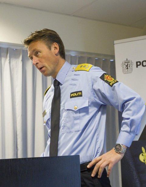 Steven Hasseldal, politimester i Øst politidistrikt.
