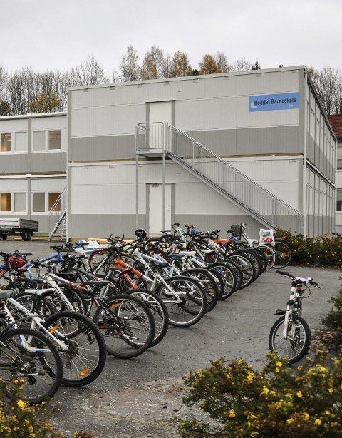 FÆRRE: Heddal barneskole fra dagens 228 til 216 i 2030.
