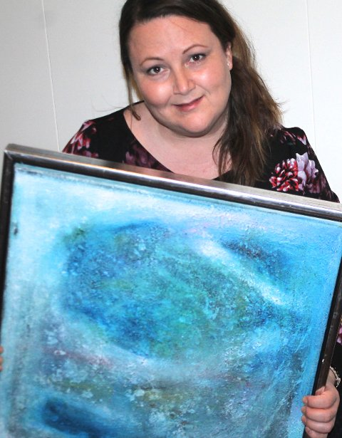 May Silje Findahl, åpner utstilling i Galleri Elgen lørdag