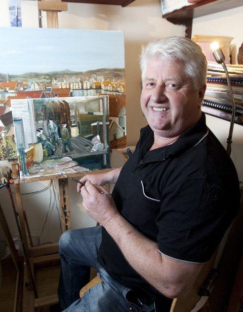 GALLERI CENTAURI: Dag Einar Alfsen stiller ut bilder.