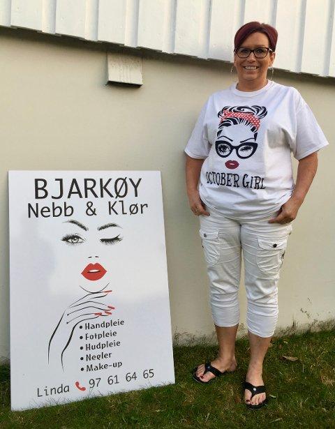 JUBILANT: Linda Bendiksen feirer denne uken ettårsjubileum for velværesalongen på Bjarkøy.