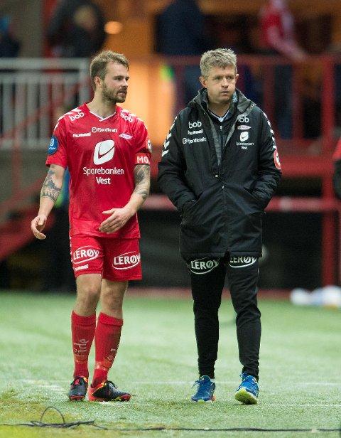 «Det er noen som ikke er helt på. Du får spørre dem om hvorfor det er slik», uttalte Vadim Demidov etter tapet mot LSK. Fotballpreik-guttene mener kapteinen bør begynne med å gå i seg selv. Også Lars Arne Nilsen får en skrape for laguttaket etter årets første hjemmetap.