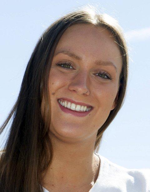 GULL: Stine Stine Stenseth er på gulljakt i svømme-NM.