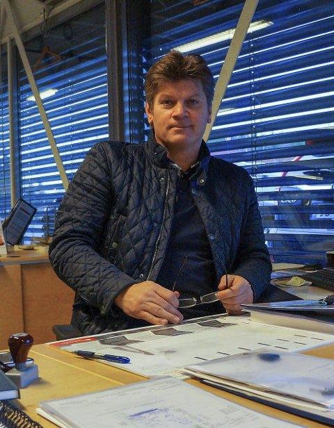 NY PÅ HARESTUA: Alf Bernstrøm er det nye ansiktet som bilkundene på Harestua Auto vil stifte bekjentskap med.