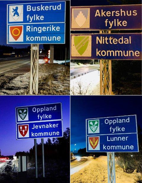 Historie: Oppland fylke er gått inn i historien.