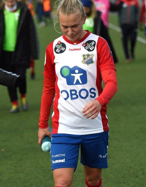 UTSLÅTT: Emilie Bølviken og Lyn kjempet tappert. FOTO: OLE JOHN HOSTVEDT