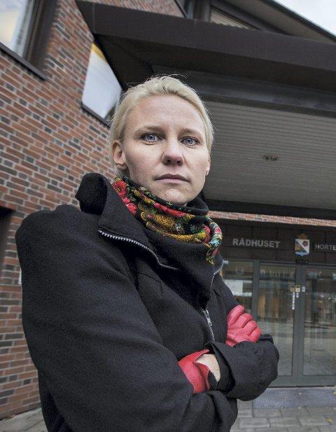 EN RUNDE TIL: Gruppeleder Maria Aasen-Svendsrud i Arbeiderpartiet går gjerne ei runde til rundt en eventuell ny kunstisbane.