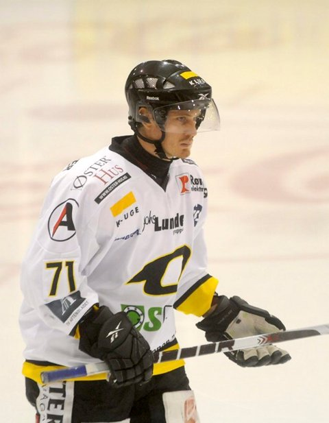 Peter Lorentzen scoret i den sjette NM-finalen torsdag kveld. Arkivfoto: Atle Wester Larsen