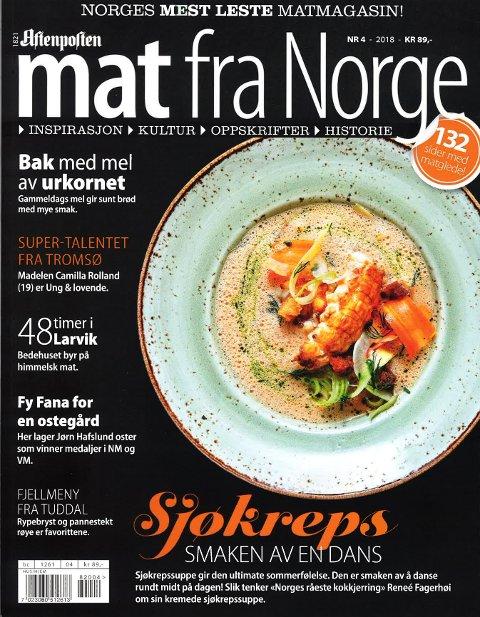 Magasinet Mat fra Norge var på visitt i Larvik. Det kan du lese om i det siste nummeret.