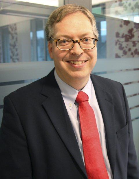 Statssekretær Thor Kleppen Sættem.