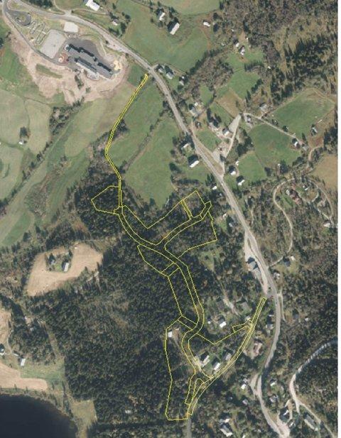Nær skulen: - Øystre Slidre kommune ynskjer med denne planen å leggje til rette for eit attraktivt bustadområde nær Lidar skule.