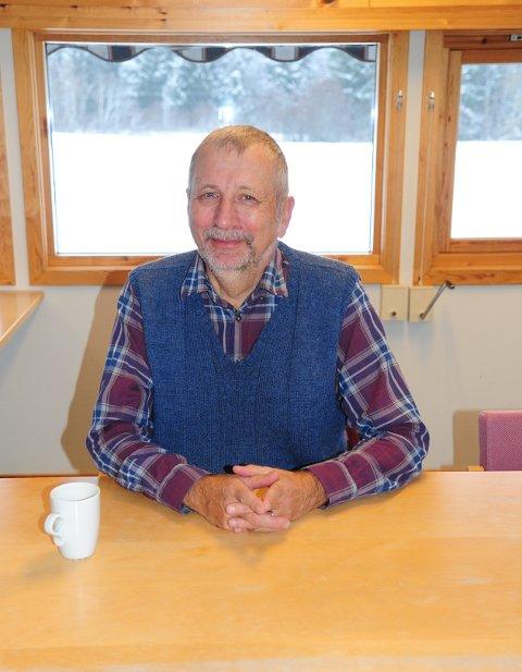 I VINDEN: Arne Willy Dahl er fylkesleder i Akershus KrF, og en av to delegater fra Nittedal under landsmøtet fredag kveld.
