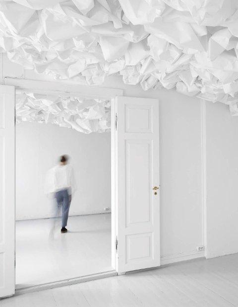 BILLEDGALLERIET: Installasjon av Marit Roland.