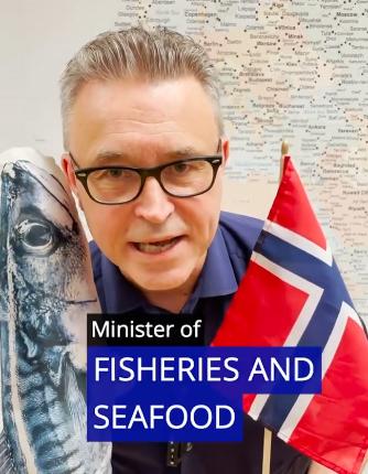 Odd Emil Ingebrigtsen med en klar oppfordring: Spis fisk!