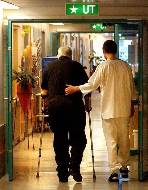 MANGE LEDIGE STILLINGER: Av de totalt 4.019 utlyste stillingene i Trøndelag er 1.186 innen helse, pleie og omsorg.