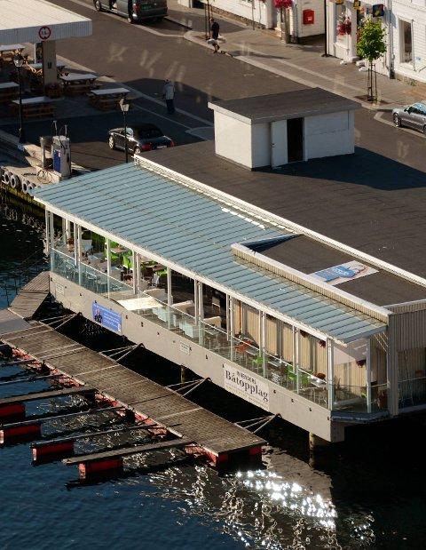 Siste: På havnesiden foreslås det takterrasse.Foto: arkiv
