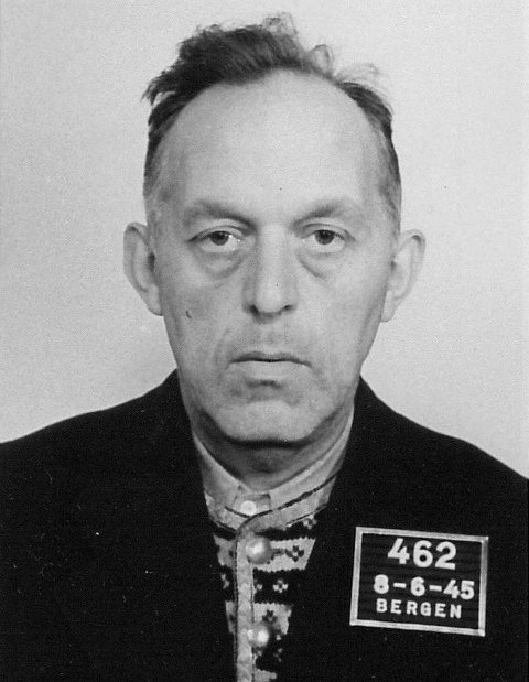 DØMT: Sigurd Theodor Huse, NRK Bergen, dømt til seks års tvangsarbeid for landssvik.